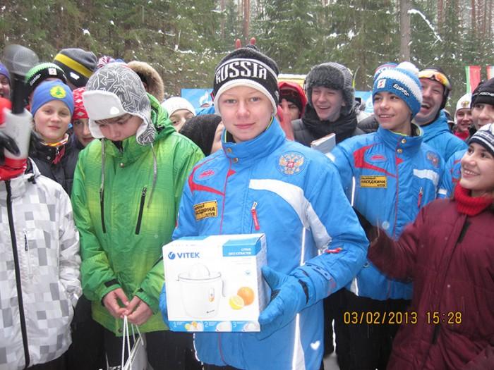 Третья детская лыжная гонка на призы газеты «Московский Комсомолец»