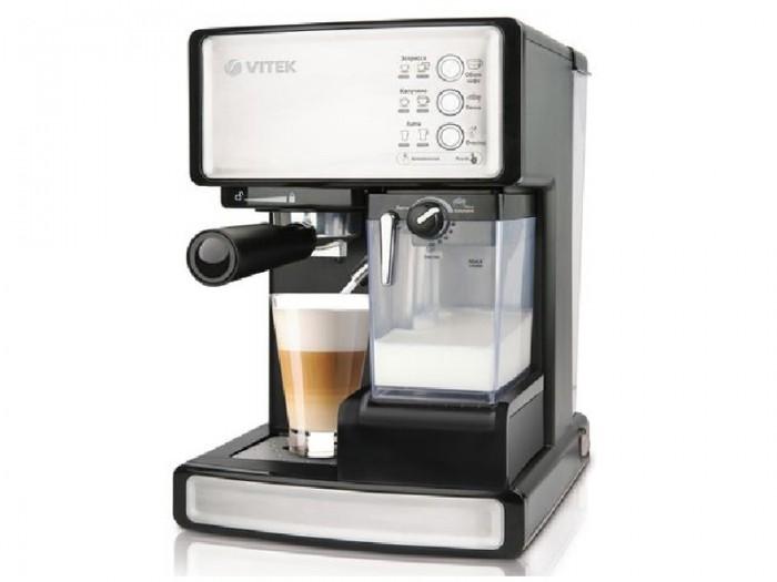 Представляем новинку - многофункциональную автоматическую эспрессо-кофеварку VT-1514 BK
