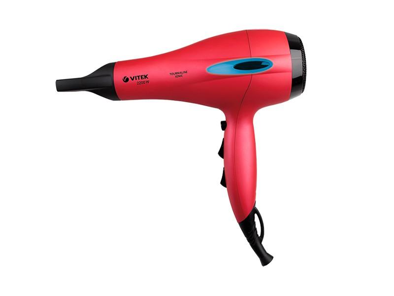 Идеальная укладка и здоровые волосы c  феном VT-2329 R VITEK