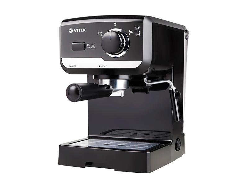 Итальянский кофе с кофеваркой VT-1502 BK от VITEK