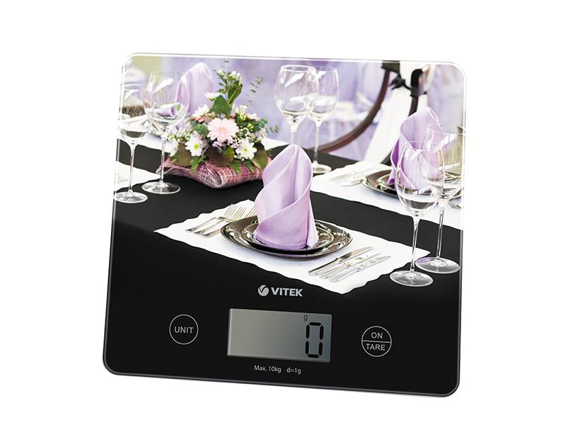 Яркие кухонные весы  VT-8024  от VITEK